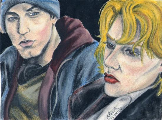 Eminem, Brittany Murphy by mystique1981